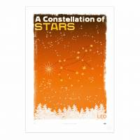 MinaLima - A Constellation of Stars - Libra Print