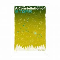 MinaLima - A Constellation of Stars - Leo Print