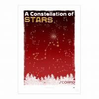 MinaLima - A Constellation of Stars - Sagittarius<br>プリント