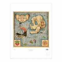 MinaLima - The Jungle Book - Map of The Kingdom Print