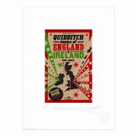 MinaLima - The 422nd Quidditch World Cup - Grid Print