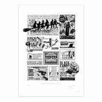 MinaLima - Ensemble d'aimants- La Gazette du Sorcier