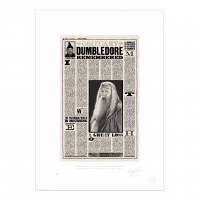 MinaLima - The Daily Prophet - 'New Headmaster for Hogwarts' Print