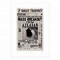 MinaLima - The Daily Prophet - 'He Who Must Not Be Named Returns' Print