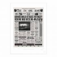 MinaLima - The New York Ghost - Prominent No-Maj Killed Print