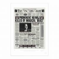 MinaLima - The New York Ghost - Magical Disturbances Print