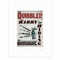 MinaLima - The Quibbler - 'How Far Will Fudge Go?' Print