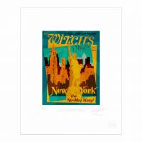 MinaLima - Voges Quills of Distinction Advertisement Print