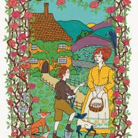 MinaLima - The Secret Garden - The Curtain Print