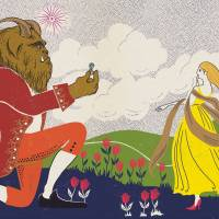 MinaLima - The Beauty and the Beast - The Proposal Print