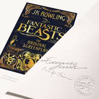MinaLima - Fantastic Beasts And Where To Find Them 'The Original Screenplay' Cover Print