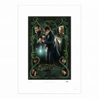 MinaLima - Fantastic Beasts: The Crimes of Grindelwald Special Release Poster II Print