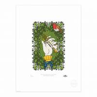 MinaLima - The Secret Garden - The Robin Who Showed the Way Print