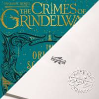 MinaLima - Fantastic Beasts: The Crimes of Grindelwald 'The Original Screenplay' Cover Print