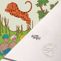 MinaLima - The Jungle Book - Men With Huqas Print
