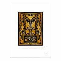 MinaLima - Fantastic Beasts Book Launch Invite Print