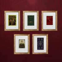MinaLima - Hogwarts Library: Defence Against the Dark Arts – Standard Curated Treasury