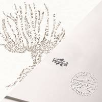 MinaLima - The Whomping Willow from The Marauder's Map Print