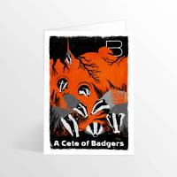 MinaLima - A Cete of Badgers<br>グリーティングカード