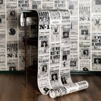 MinaLima - The Daily Prophet Wallpaper