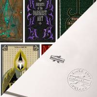 MinaLima - Dark Arts Defence Book Covers Print