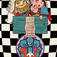 MinaLima - Alice in Wonderland - Alice's Evidence Print