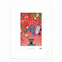 MinaLima - Alice im Wunderland - Down the Rabbit Hole Print