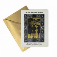 MinaLima - The Tale of the Three Brothers - Foiled Notecard