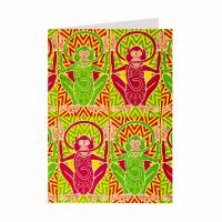 MinaLima - A Troop of Monkeys' Notecard
