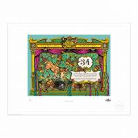MinaLima - Pinocchio - Eaten By Fishes Print