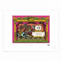 MinaLima - Pinocchio - Pinocchio Loses His Money Print