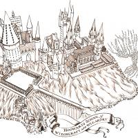 MinaLima - Hogwarts - Magic at Home Print