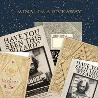 MinaLima - (Sold Out) Wizarding World Giveaway 20 - 21 June