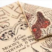 MinaLima - Marauder's Map Cushion Cover
