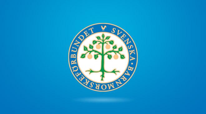 Svenska barnmorskeförbundets logotyp