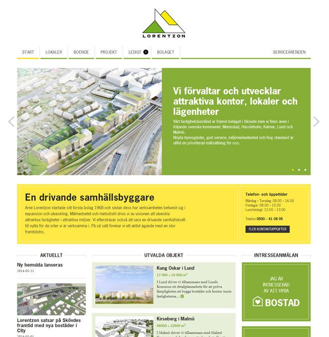 Startsida för alorentz.se