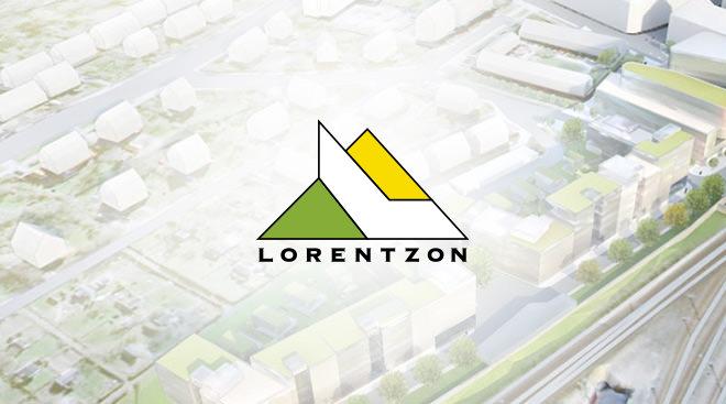 Arne Lorentzon Logotyp