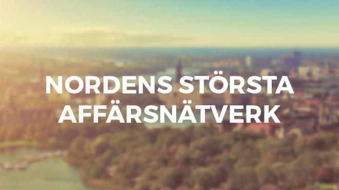 Inexchange är Nordens största affärsnätverk