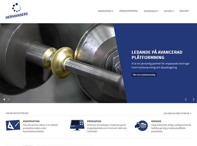 Hermanders - Startsidan