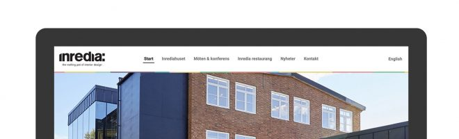 Ny webb till Inredia i Tibro