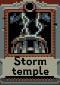 Storm temple