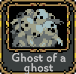 Ghost of a ghost