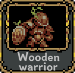 Wooden warrior