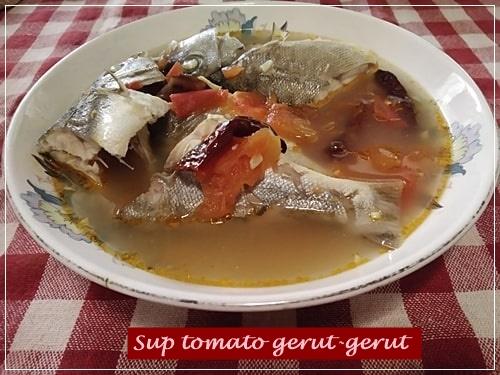 Sup tomato gerut-gerut