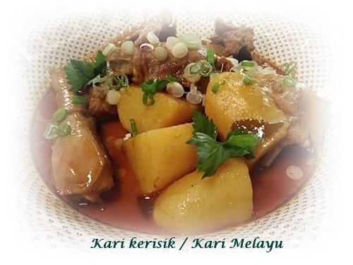 Kari kerisik / Kari Melayu