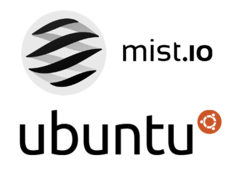 Mist and ubuntu logos