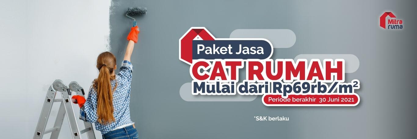 Paket Jasa Cat-Rumah Juni - Web Banner