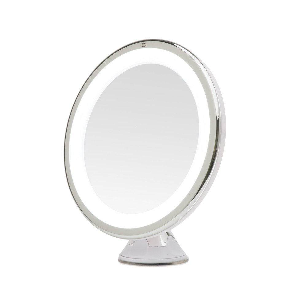 SUCTION CUP MAKEUP MIRROR
