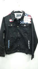 American flag denim jacket 1