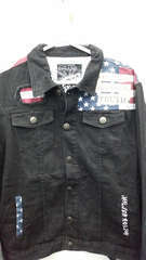 American flag denim jacket 2